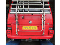 VW T4 Stainless Steel Custom Exhaust Back Box Dual Twin Tail Pipe £240!