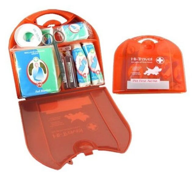 FIRST AID VET KIT FOR YOUR PET ~ GREAT FOR EMERGENCIES! 24 ITEMS ~ FREE 1st POST