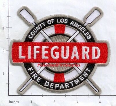 California   Los Angeles County Ca Lifeguard Fire Dept Patch