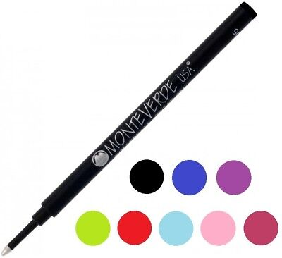 5 Monteverde G23 Rollerball Pen Refills, Medium Point, Schmidt 888 Compatible (Schmidt Pen Refills)