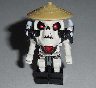 NINJAGO #14 Lego Wyplash Grey Lioncloth w/ Rice Hat NEW Halloween 2509 - Lego Ninjago Halloween