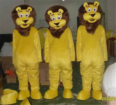 Animal Mascot Lion Costume 1pc King of Forest Party Dress Parade Cosplay Animals - Woodland Animal Costumes