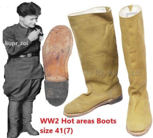 Sz.41 pre WW2 RKKA Soviet field fabric for Hot Areas Army Boots