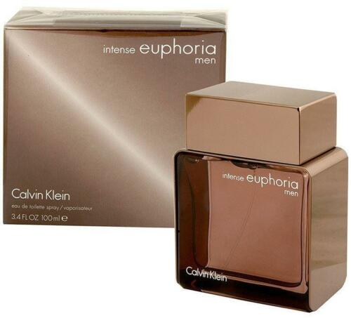 EUPHORIA INTENSE by Calvin Klein 3.4 oz MEN Cologne Brand New in Box