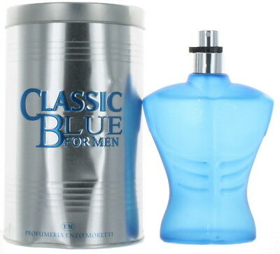 Classic Blue by Classic for Men EDT Cologne Spray 3.3 oz.-Damaged Box