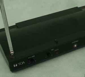 TOA  WT-4810 diversity wireless tuner (receiver only!) Ver: A01