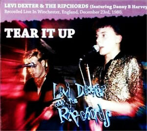 LEVI-DEXTER-THE-RIPCHORDS-Tear-It-Up-CD-Danny-B-Harvey-Rockabilly-NEW