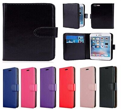 For Apple iphone SE 2 [2020]  PU Leather Wallet Magnetic Flip Phone Case Cover