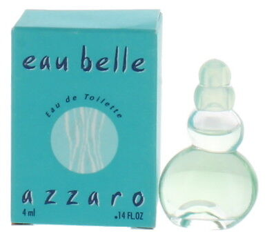 eau belle by azzaro for Women Mini EDT Perfume Splash .14oz New in Box (Azzaro Eau Belle Edt)
