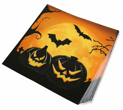 Halloween Party Servietten 20 Stück NEU - Partyartikel Dekoration Karneval Fasch
