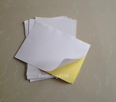 20pc Matte Paper Sheet A5 Printable Self Adhesive Sticker Printer paper (20 Sheet Printer Paper)