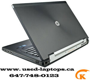 hp elitebook 8560w laptop ( i7 2nd Gen /8G/2G GPUs/FHD Display)
