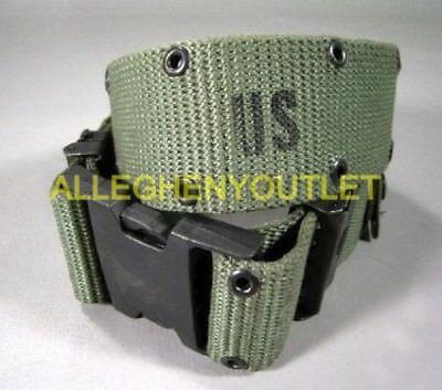 US Military WEB Belt Pistol Utility Belt Duty Belt LC-2 Quick Release LARGE - 2 Web Belt