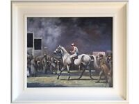 At The Races, Ascot by A.J.M. (Original Oil Painting)
