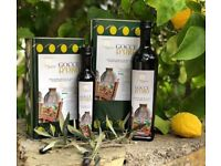 we sell extra virgin olive oil ,produced from our olives grown in Sicily in organic farming