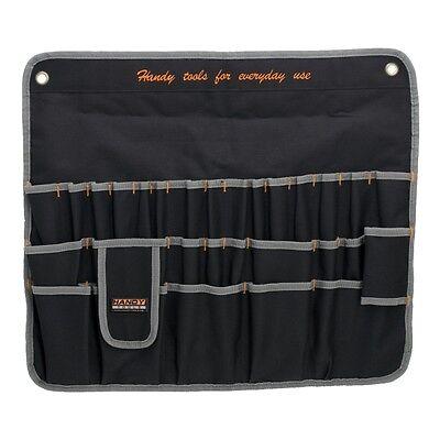 10239 Handy Multi Chisel/Screwdriver/Spanner Tool Roll Hang Holder 30 Pockets