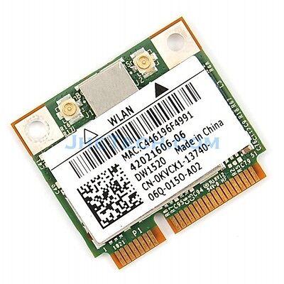 Dell Dw1520 Bcm4322 Wireless Agn Half Mini Pci-e Broadcom Bcm943224hms Wifi Card