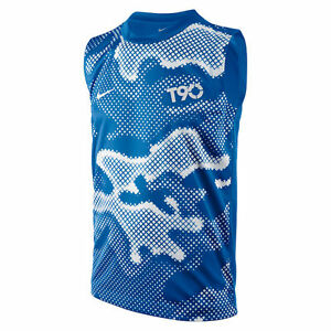 Nike T90 Dri Fit Sleeveless Kids T Shirt Boys Size 8 Years Old