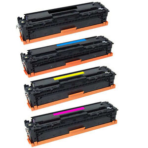 4 toner cartridge for hp 128a laserjet CM1415 CP1525 ce320a ce321a ce322a ce323a