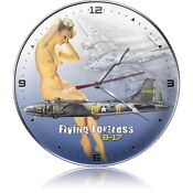 B-17 Flying Fortress Clock