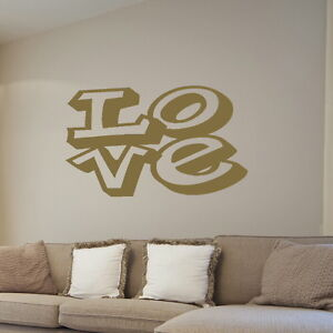 LOVE-decal-wall-art-sticker-quote-transfer-graphic-stencil-bedroom-kitchen-DAQ25