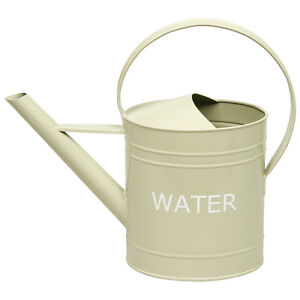 Garden-Vintage-Enamel-Metal-Watering-Can-Sage-Green