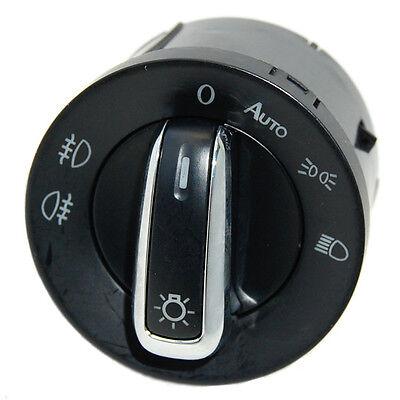 Hqrp Headlight Switch For Volkswagen Vw Jetta Mk5 / Mk6 2009 2010 2011