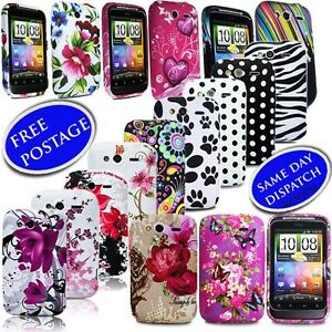 For-HTC-Wildfire-S-Stylish-Silicone-Gel-Floral-Skin-Mobile-Phone-Case-Cover-SP