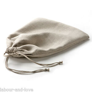 Minimalist-Pure-Linen-Bread-Bag-Bin-Storage-German-Strong-Twill-Weave