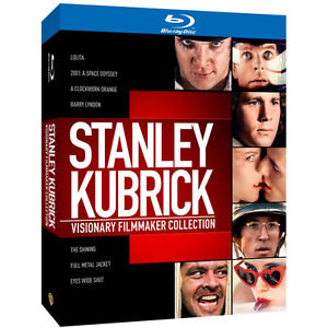 Stanley Kubrick: Visionary Filmmaker Collection 8 Movie Blu-Ray New and Sealed