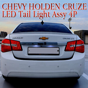 2008 2011 Chevy Holden Cruze Led Tail Light Lamp Assy 4p