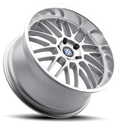 18 Staggered Silver Beyern Mesh Wheels Rims 5x120 Bmw 3 Series E90 E92 335 328