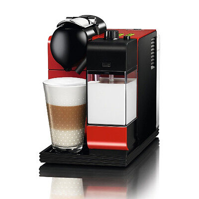 NESPRESSO LATTISSIMA PLUS ESPRESSO MACHINE / RED / NEW