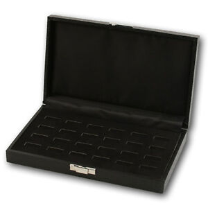 LOTS BLACK RING BOX RING ORGANIZER RING DISPLAY CASE WOOD RING CASE JEWELRY BOX