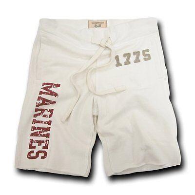 Usmc Marines Military Applique Fleece Vintage Training Marine Corps Shorts L Xl