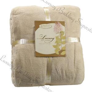 Ultra-Super-Soft-Fleece-Plush-Luxury-BLANKET-All-Sizes-6-colors