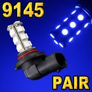 2-Pcs-9145-9140-H10-Blue-18-SMD-5050-LED-Driving-Fog-Light-Bulbs-B50