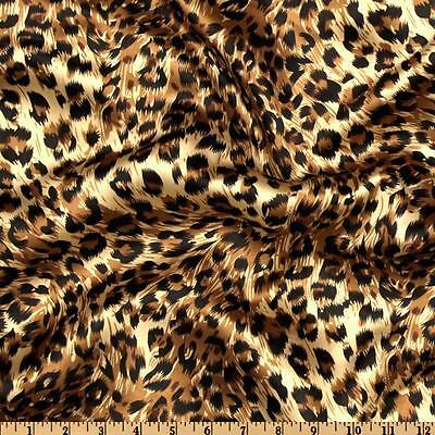 10 Cheetah Leopard 132 Round Satin Tablecloths 6ft Table Cover Animal Print