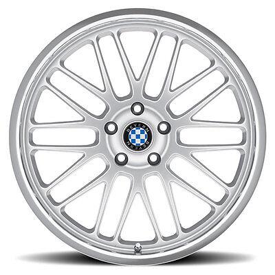17 Silver Beyern Mesh Wheels Rims 5x120 Bmw 3 Series E36 E46 E90 E92 335 328