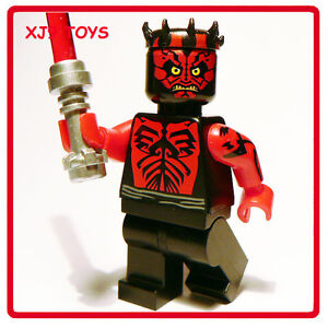 LEGO-Star-Clone-Wars-Sith-Apprentice-Darth-Maul-Minfig-Shirtless-Limited-Edition