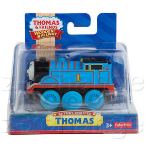 MOTORIZED-THOMAS-HIMSELF-BATTERY-POWERED-Wooden-Engine-Train-NIB