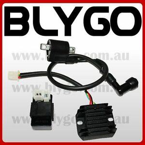 Ignition Coil CDI UNIT Rectifier 150cc 250cc PIT PRO Trail Dirt Quad Bike Buggy
