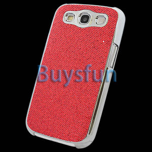 Red-Luxury-Bling-Chrome-Hard-Cover-Case-For-Samsung-Galaxy-S3-i9300