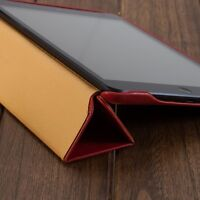 Vintage tablet cover Natural cow leather top quality for mini