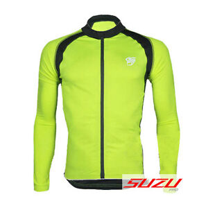Cycling Bicycle Bike Outdoor Top Jersey Shirt Long Sleeve Full Zip