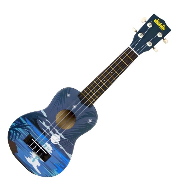brand new kala ukadelic tropical night soprano ukulele pro sound great look uke ebay. Black Bedroom Furniture Sets. Home Design Ideas
