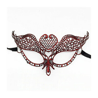 Eye Mask Sexy Lace Venetian Masquerade Halloween Party Fancy Dress Costume UK