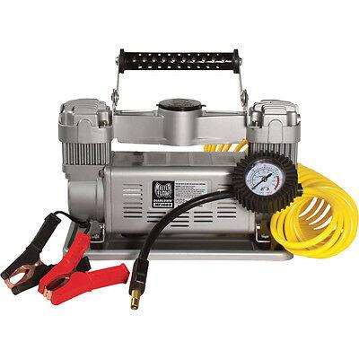 Diabblo 12 Volt 120 PSI Twin Air Compressor for Trucks, SUVs, RVs & Trailers