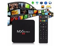 Fully Loaded Mxq Pro Android Box Amlogic S905 Quad Core Android 5.1 2.4G wifi MXQ pro TV Bo
