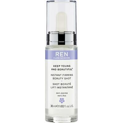 Ren Keep Young And Beautiful™ Instant Firming Beauty Shot 30ml new. Rrp £42